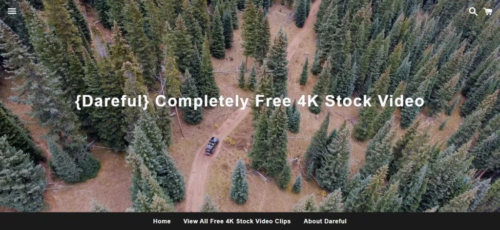 Dareful - Free stock video footage sites